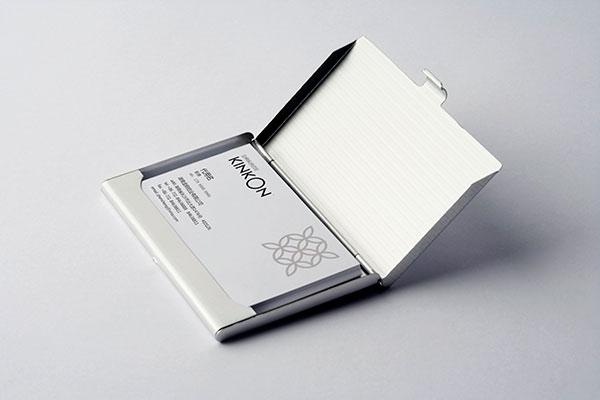 名片盒里的名片样机