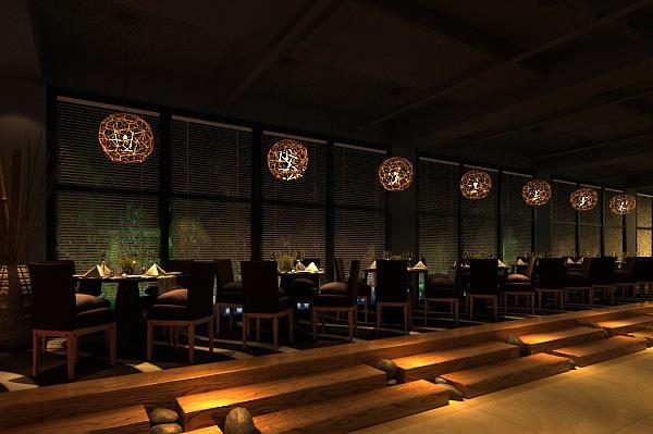 中餐厅3d模型