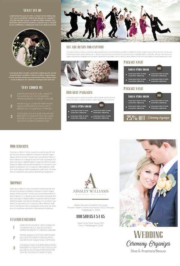 婚礼宣传册
