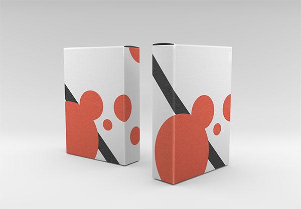 食品包装盒样机