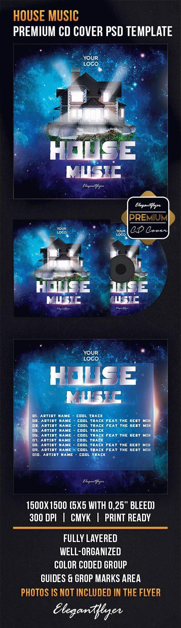 家庭音乐CD包装设计