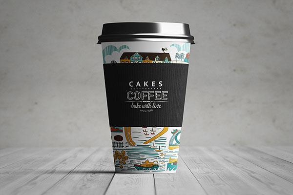 纸咖啡杯样机