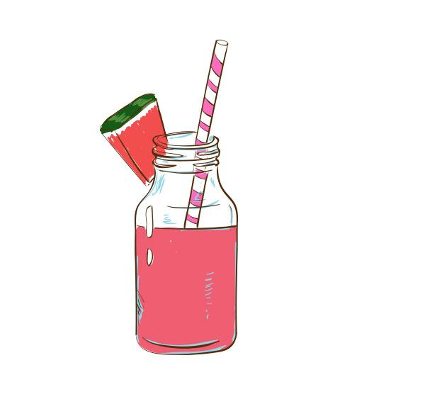 好喝的西瓜汁