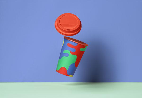 热饮杯包装样机