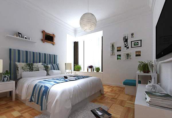卧室整体3d模型