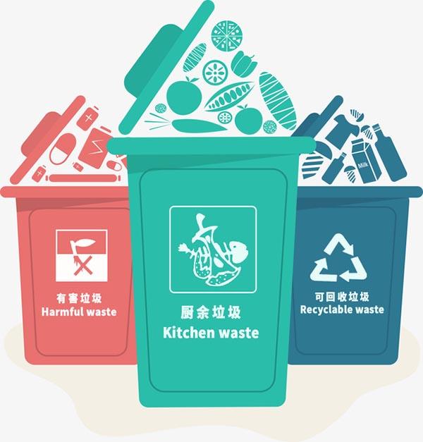 垃圾分类图标