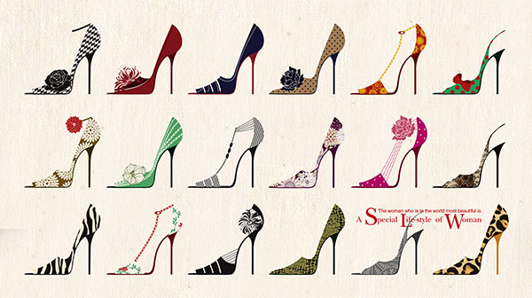 漂亮高跟鞋