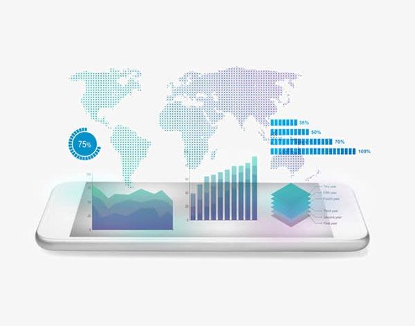 智能手机与信息图表