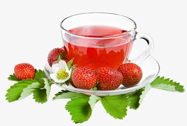 草莓水果茶