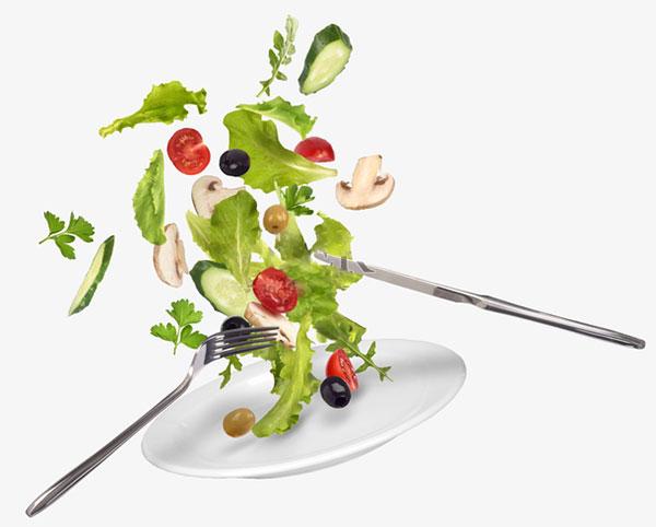 动态蔬菜沙拉