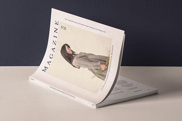 杂志展示样机