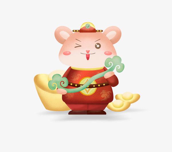 可爱卡通鼠形象1