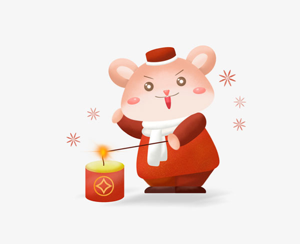 鼠年卡通鼠形象4