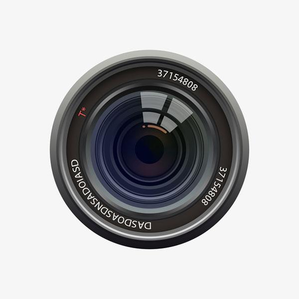 写实相机镜头
