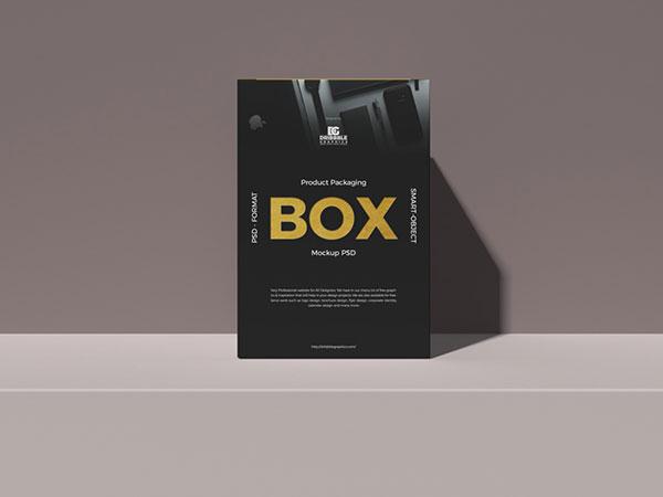 产品包装盒样机