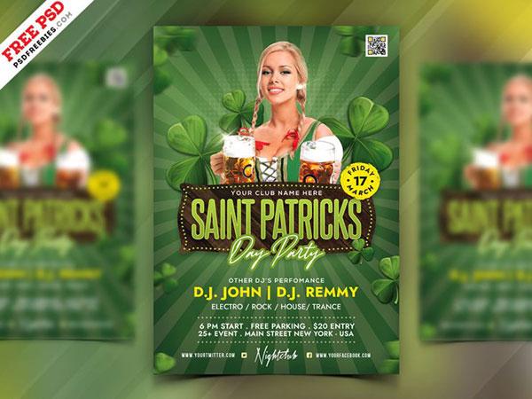 圣帕特里克节海报