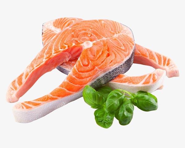 新鲜三文鱼