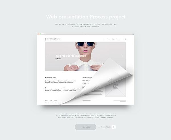 Web项目展示样机