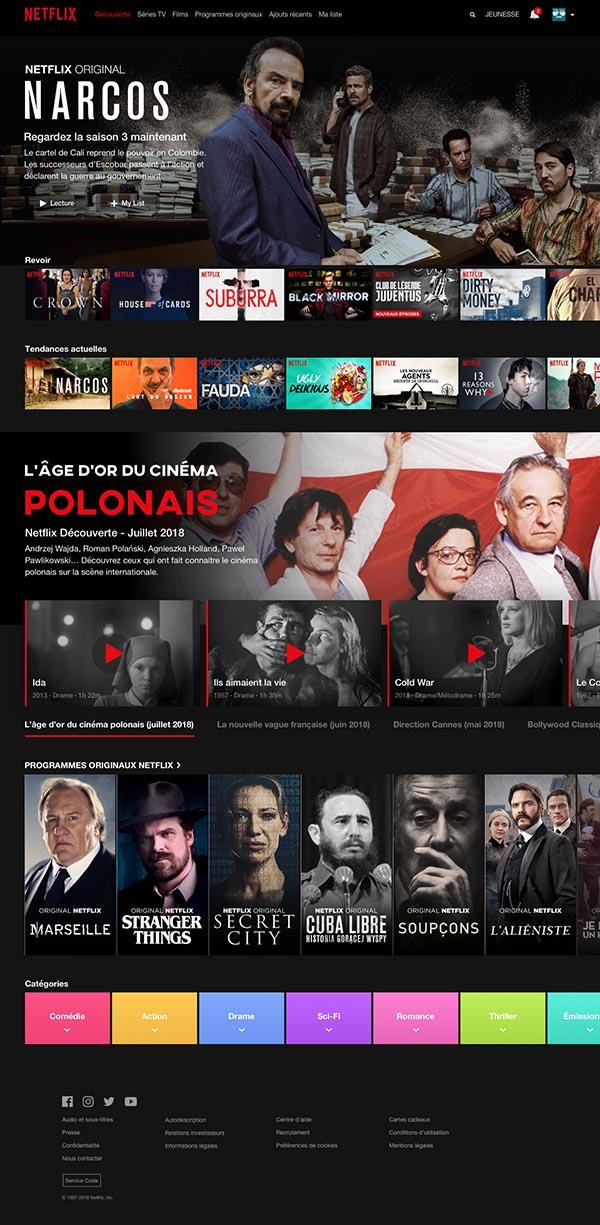电影类网页模板