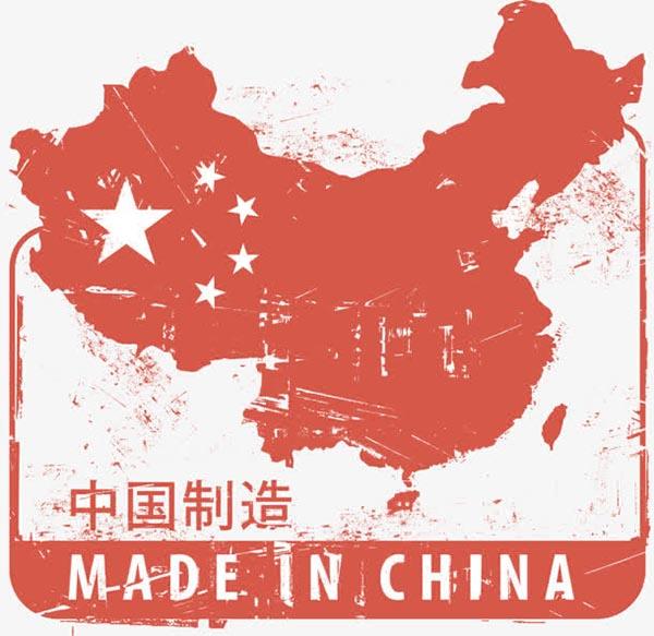 中国制造的地图