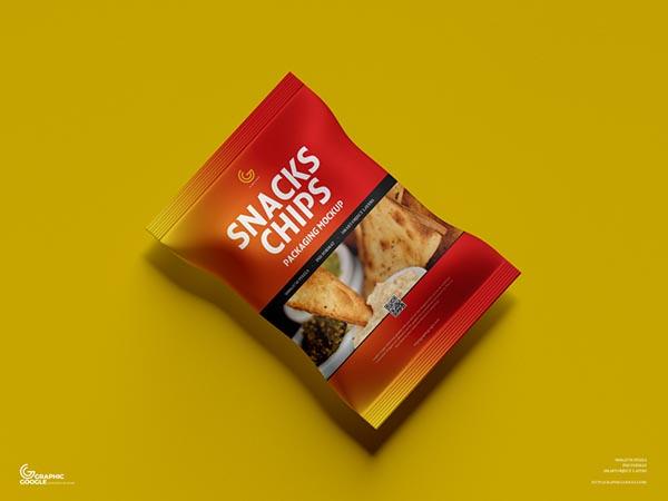 零食袋包装样机
