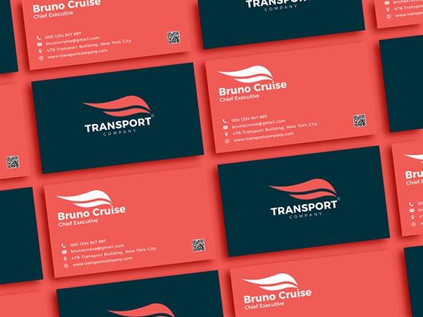 交通公司名片设计