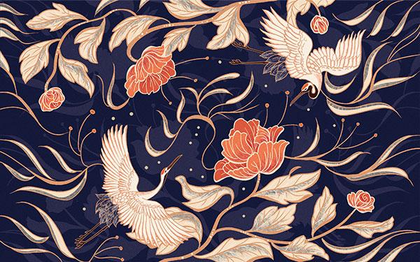 中国风花鸟