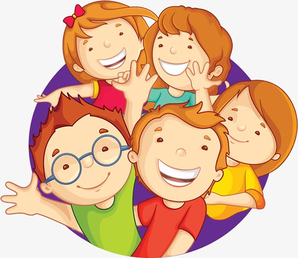 卡通欢乐儿童