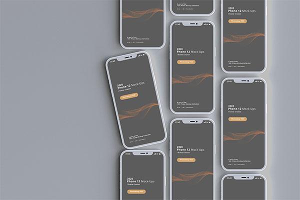 智能手机展示样机