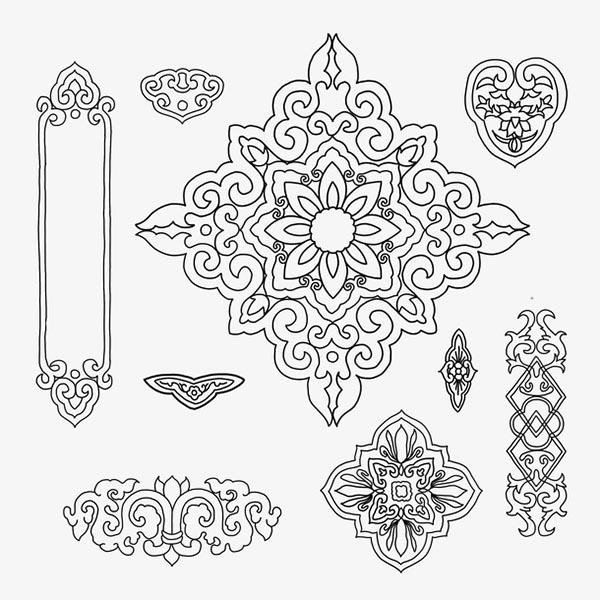 中国传统装饰元素