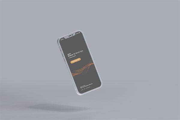 悬浮iPhone12样机