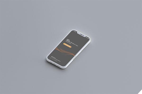 iPhone12侧视图样机