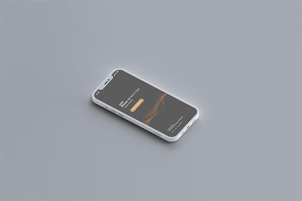 倾斜iPhone12样机