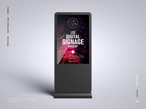 LCD数字标牌样机
