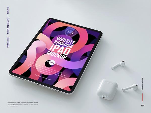 免费iPad样机