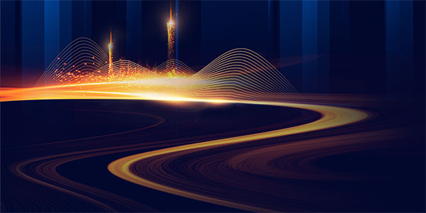 科技光效流光背景图