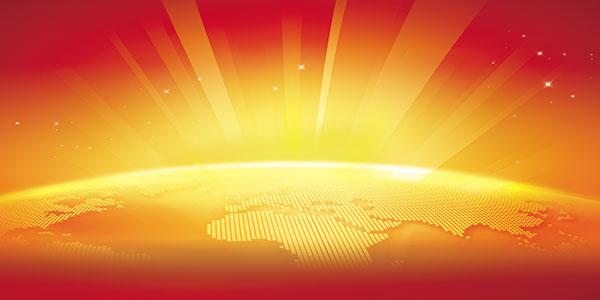地球光效背景图