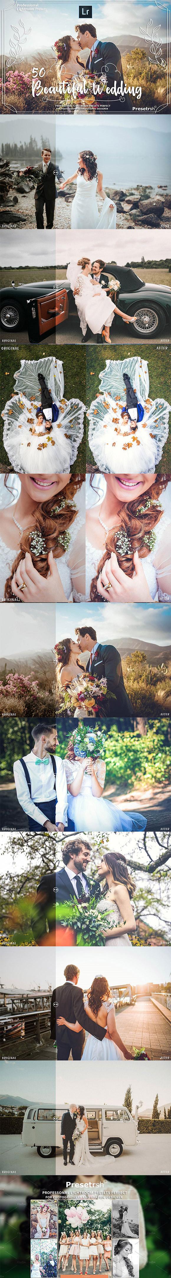 婚纱人像lr预设
