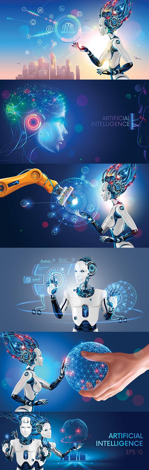 未来科技插画