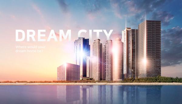 梦想之城地产海报6
