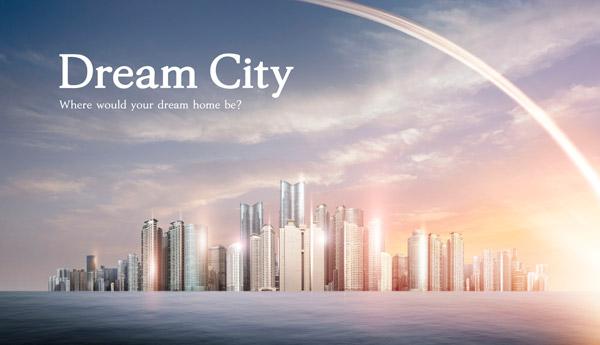 梦想之城地产海报9