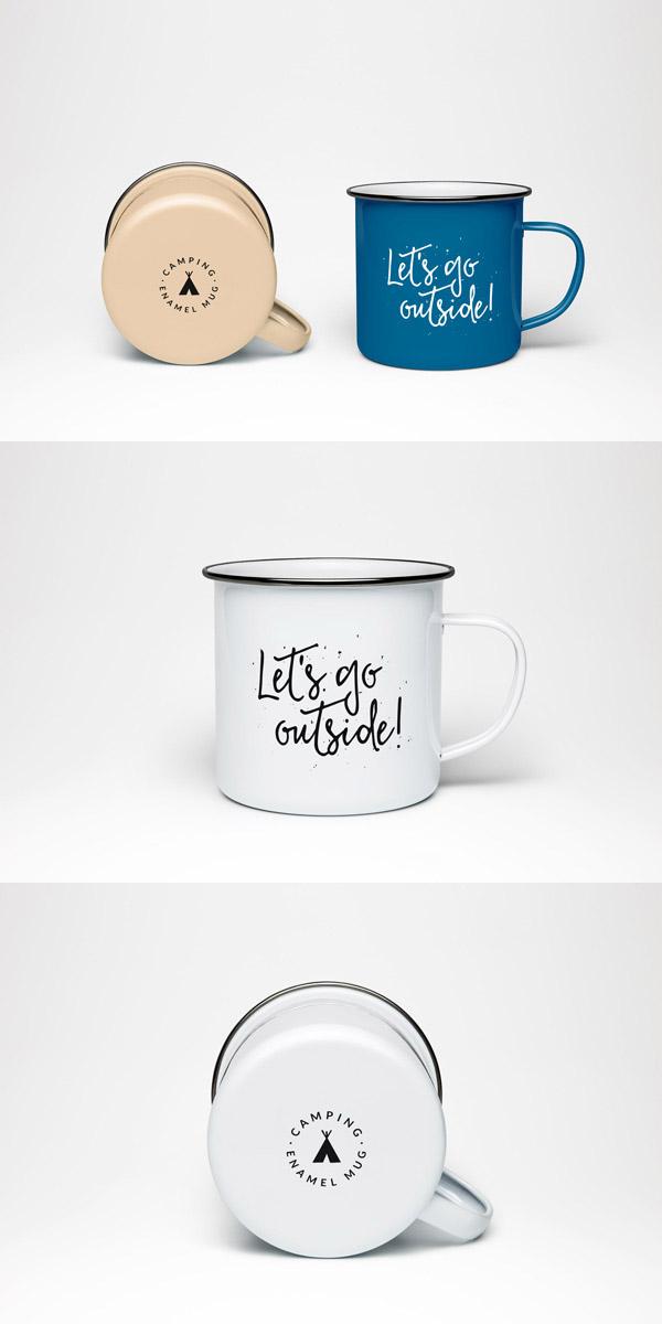 搪瓷杯样机