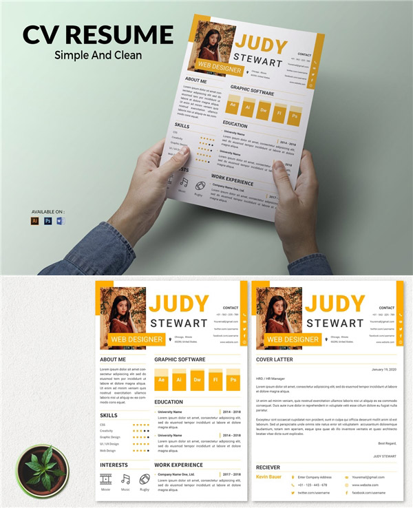 点 关键词: 网页设计师简历模板,设计师简历,简历设计,简历模板,个人
