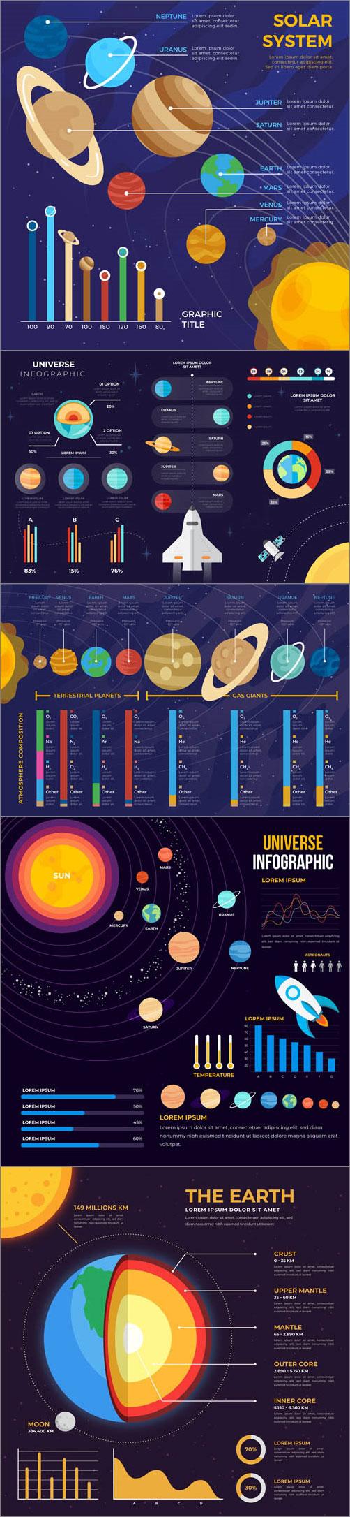 航天知识科普图表