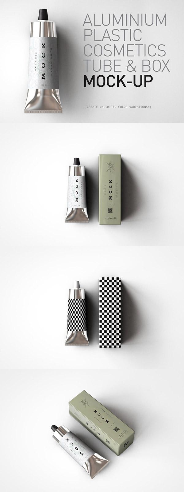 化妆品软管样机