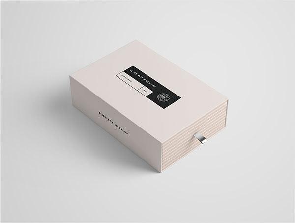 礼品盒子样机