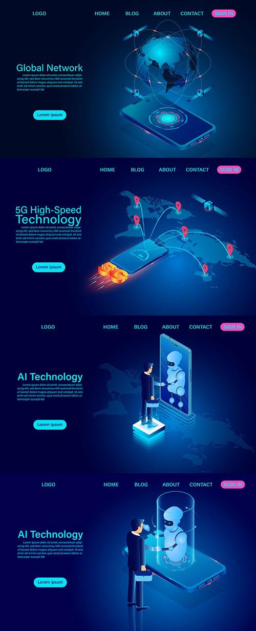 高新技术主题网页