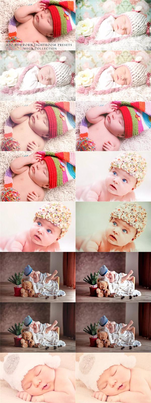 宝宝照片调色LR预设
