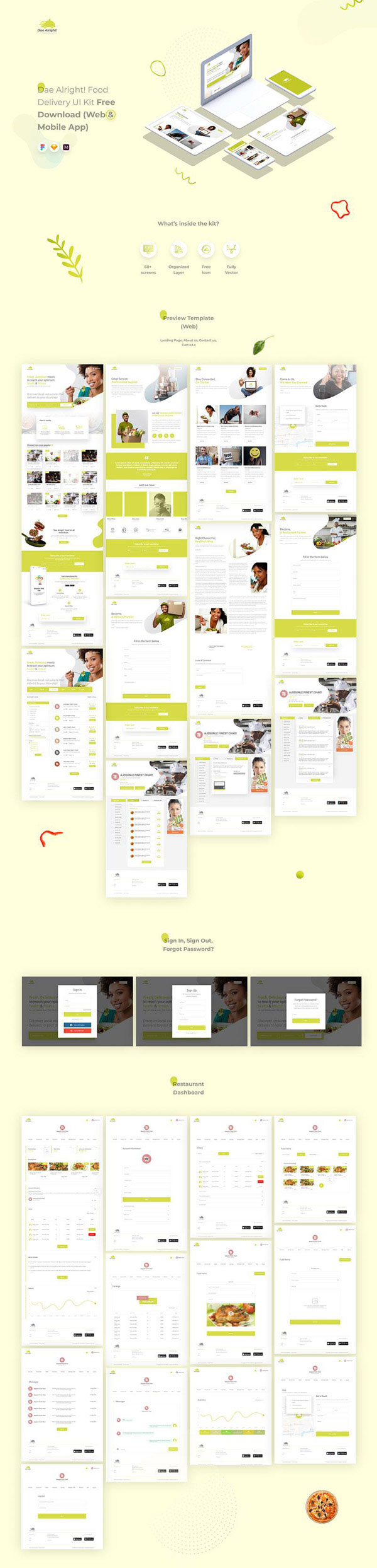 营养健康网页模板