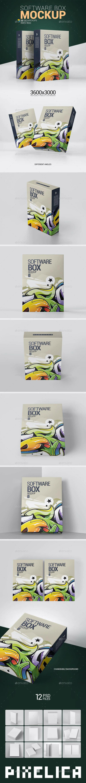 电脑硬件盒样机